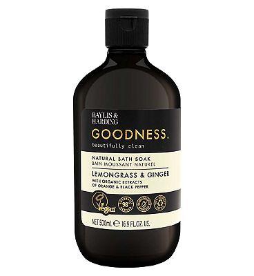Baylis & Harding Goodness Lemongrass & Ginger 500ml Bath Soak