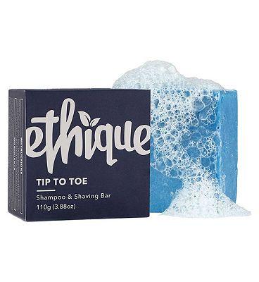 Ethique TipToToe Shampoo & Shaving Bar 110g