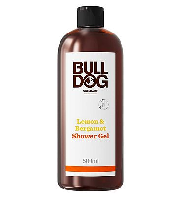 Bulldog Lemon & Bergamot Shower Gel 500ml