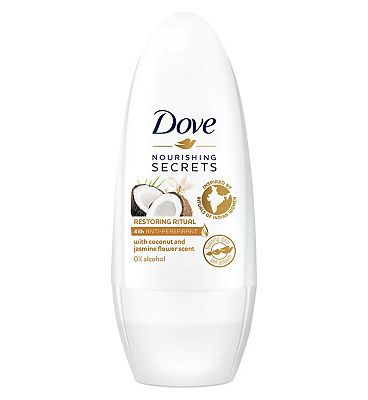 Dove Anti-Perspirant Roll On Coconut and Jasmine Flower 50ml