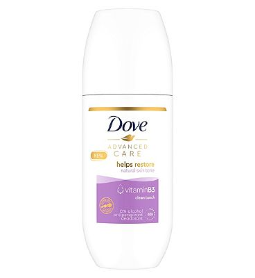 Dove Advanced Anti-Perspirant Roll On Clean Touch 100ml