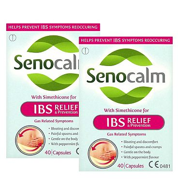 Senocalm IBS Relief & Prevention 40s x 2 Bundle