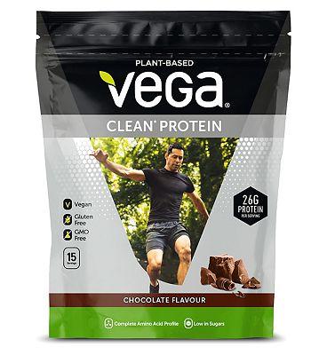Vega Clean Vegan Plant Protein Powder Chocolate - 555g