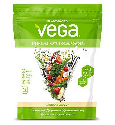 Vega Essential Vegan Plant Protein Powder Vanilla - 612g