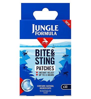 Jungle Formula Bite & Sting Patches - 30 Patches