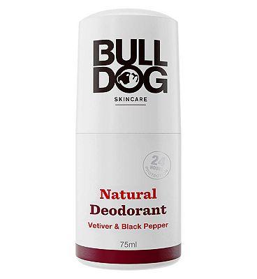 Bulldog Black Pepper & Vetiver Roll On Deodorant 75ml