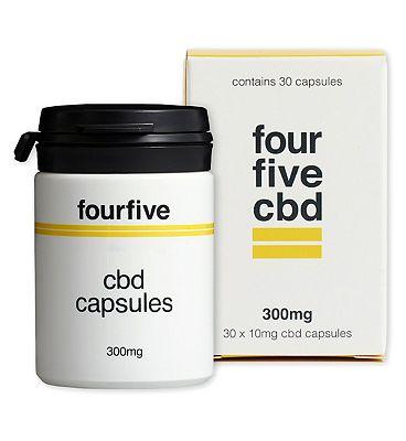 Fourfivecbd 300mg 30 x 10mg CBD Capsules