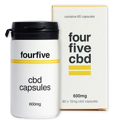 Fourfivecbd 600mg 60 x 10mg CBD Capsules