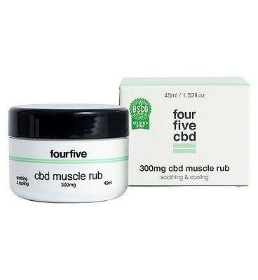 Fourfivecbd 300mg CBD Muscle Rub 45ml