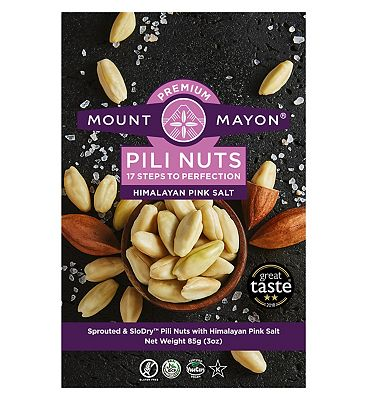 Mount Mayon Pili Nuts Himalayan Pink Salt - 85g