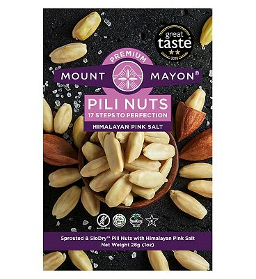 Mount Mayon Pili Nuts Himalayan Pink Salt - 28g