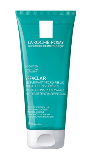 La Roche-Posay Effaclar Micro-Peeling Face and Body Cleansing Gel 200ml