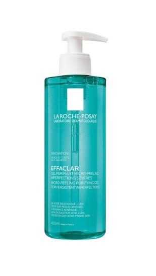 La Roche-Posay Effaclar Micro-Peeling Face and Body Cleansing Gel 400ml