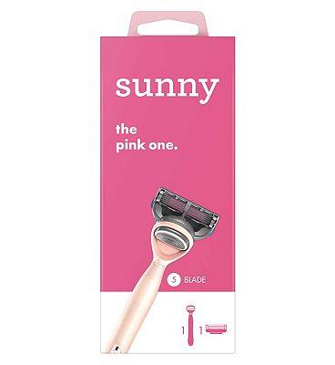 sunny razor - the pink one