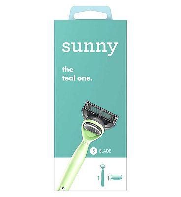 sunny razor - the teal one