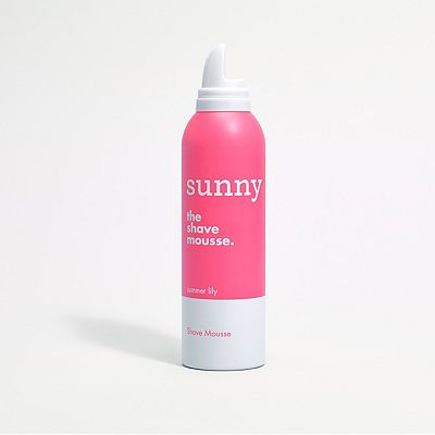 sunny shave mousse - summer lily