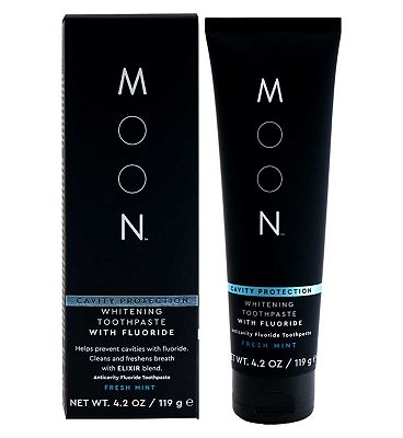 Moon Cavity Protection Whitening Toothpaste with Fluoride 119 g