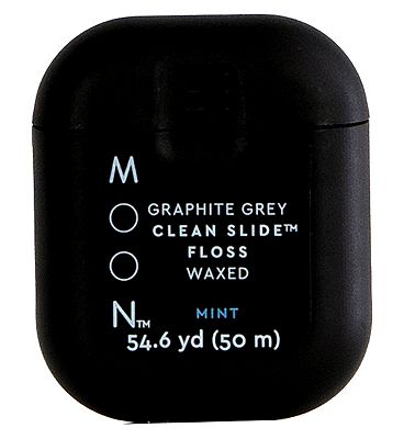 Moon Oral Care Graphite Grey Clean Slide Floss 50m