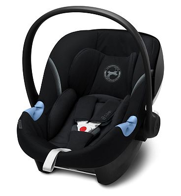 Cybex Aton M i-Size 0+ Car Seat - Deep Black