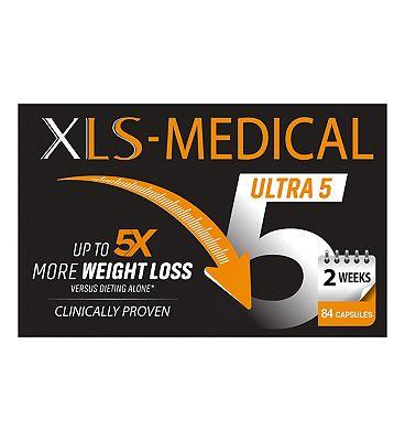 XLS Medical Ultra 5 - 84 Capsules (2 Week Supply)
