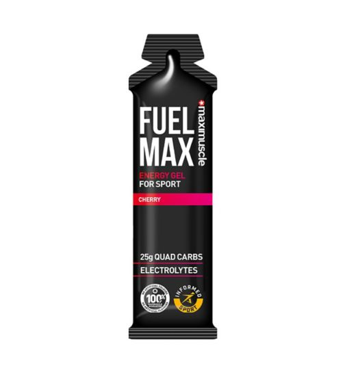 Maximuscle Fuel Max Gel Cherry Flavour - 70g