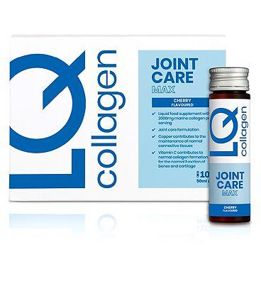 LQ Collagen Joint Care Max 10 x 50ml Bottles