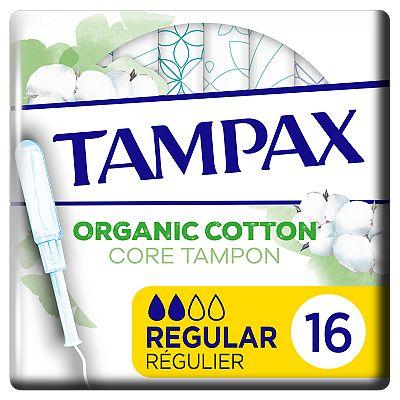 Tampax Organic Cotton Protection Regular Tampons Applicator x16