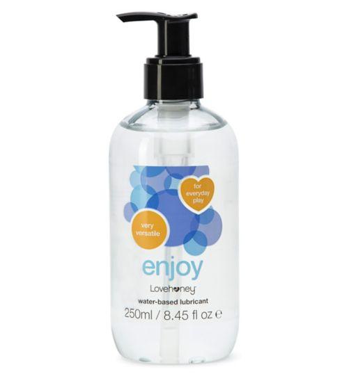 Lovehoney Enjoy Water-Based Lubricant - 250ml