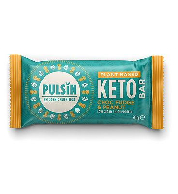 Pulsin Keto protein Bar Chocolate & Fudge - 50g