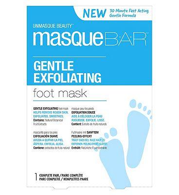 Masque Bar Gentle Exfoliating Foot Mask- 1 Pair