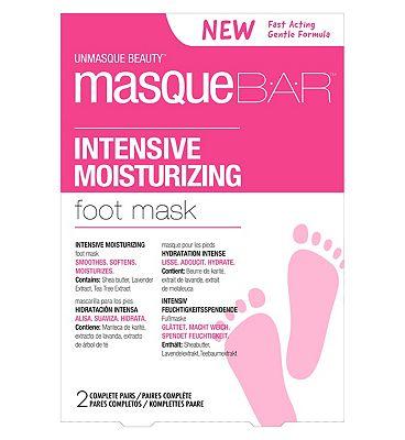 Masque Bar Intensive Moisturizing Foot Mask - 2 Pairs