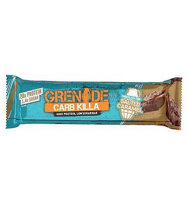 Grenade Carb Killa Bar Chocolate Chip Salted Caramel - 60g