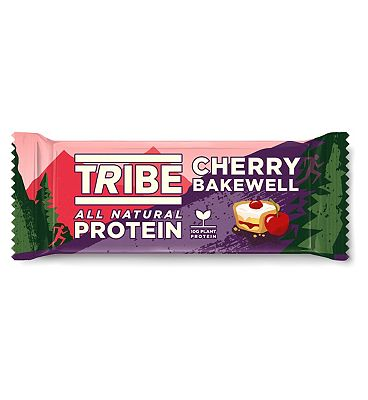Tribe Protein Bar Cherry Bakewell - 46g
