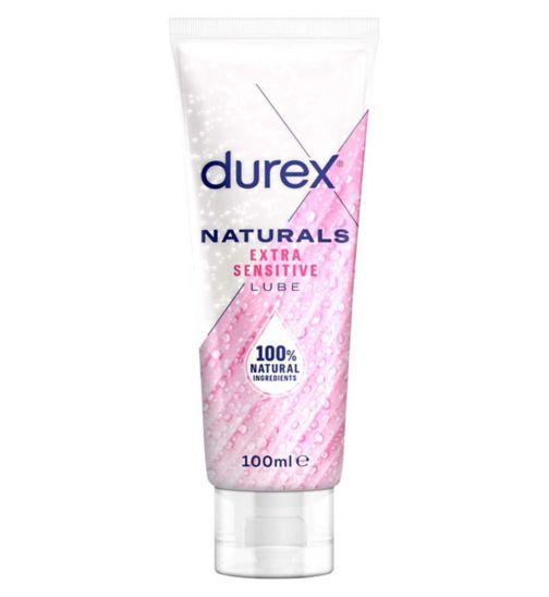 Durex Naturals Water Based Extra Sensitive Lubricant Gel - 100 ml