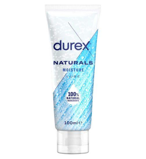 Durex Naturals Water Based Moisture Lubricant Gel - 100ml