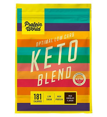 Protein World Keto Protein Powder Milk Chocolate - 520g
