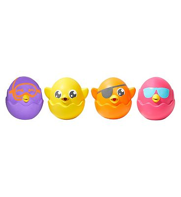 Tomy Toomie Hide and Squeak Squirt Bath Toy