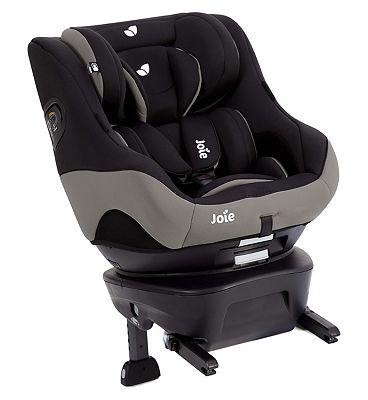 Joie Spin Safe 0+/1 Car Seat - Black Pepper