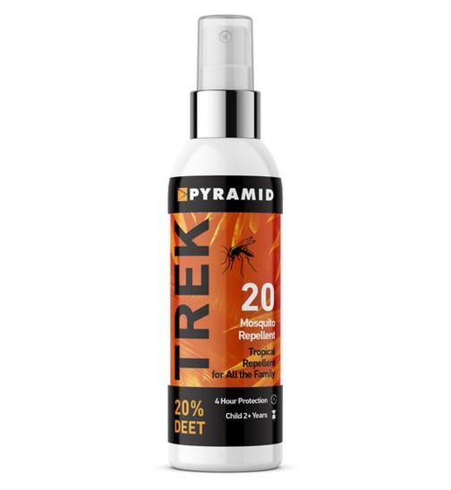 Trek Insect Repellent 20% DEET Pump Spray 60ml