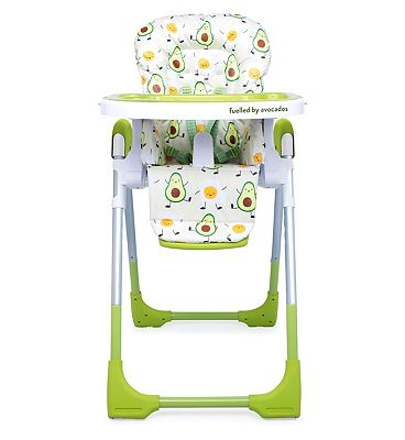Cosatto Noodle Supa Highchair 0+ Strictly Avocados