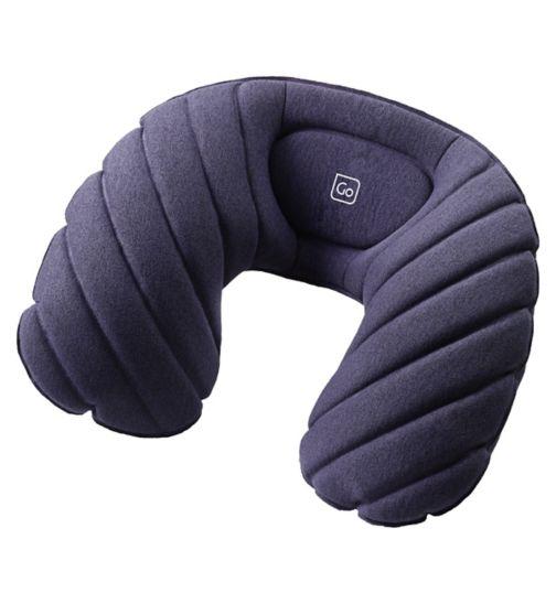 Go Travel Fusion Travel Pillow - Blue