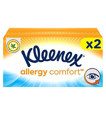 Kleenex Allergy Comfort Tissues 2 Boxes