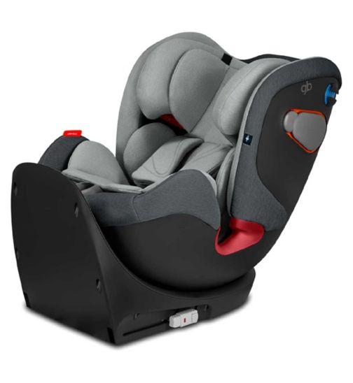 gb Uni-All group 0+/1/2/3 car seat - Grey
