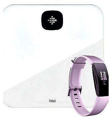 Fitbit Aria Air White & Lilac Fitbit HR