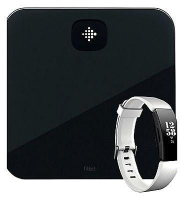 Fitbit Aria Air Black & White Fitbit HR