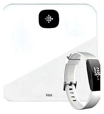 Fitbit Aria Air White & White Fitbit HR