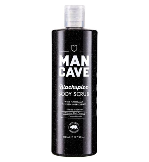 ManCave Blackspice Body Scrub 500ml