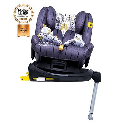 Cosatto All in All Rotate Group 0+123 Car Seat - Fika Forest