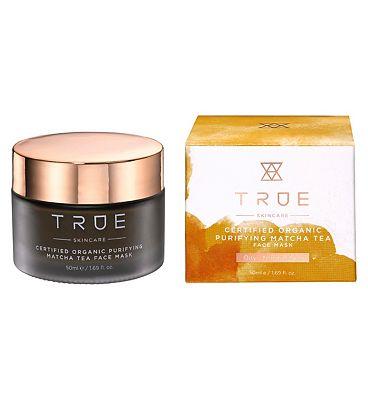 TRUE Skincare Certified Organic Purifying Matcha Tea Face Mask 50ml