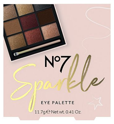 Image of No7 Sparkle EYE PALETTE Christmas Gift Set